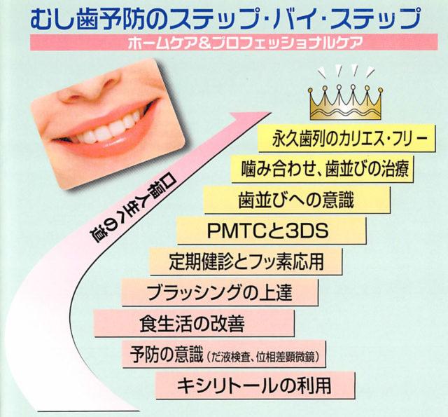 むし歯予防のステップバイステップ